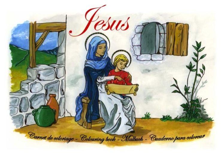 Vie de Jésus - Carnet de coloriage