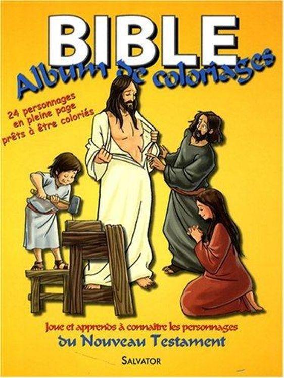 Bible - album de coloriage nouveau testament