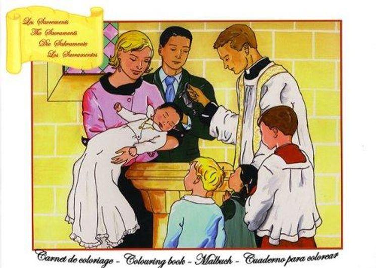 Les Sacrements - Carnet de coloriage