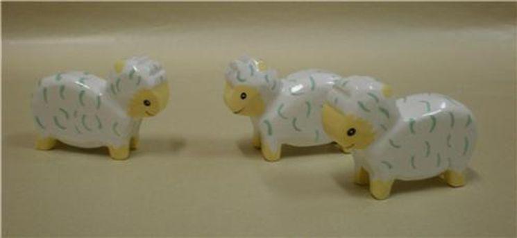 Set de 3 moutons