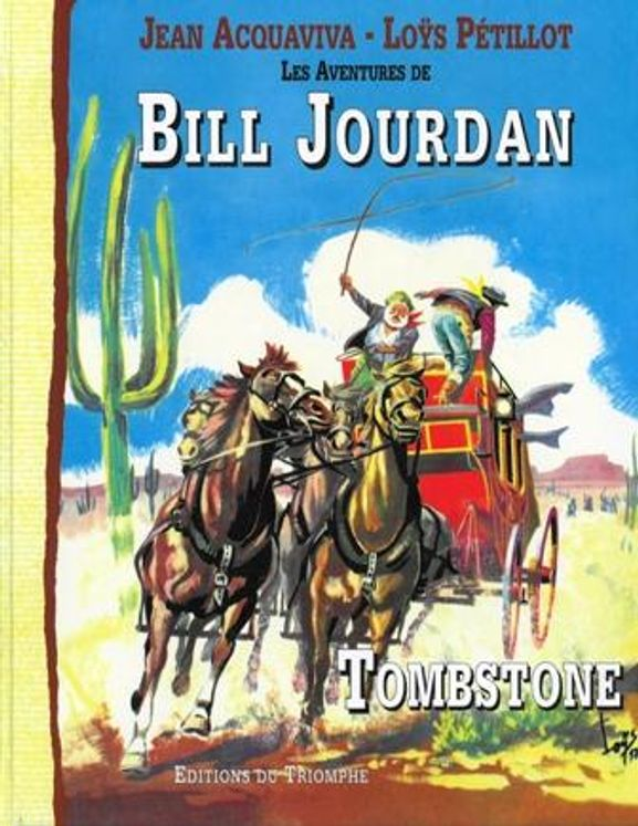 Les aventures de Bill Jourdan 02 - Tombstone