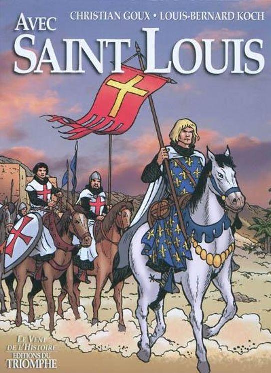Avec Saint Louis - BD