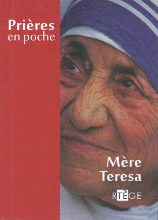 Prières en poche - Mère Teresa