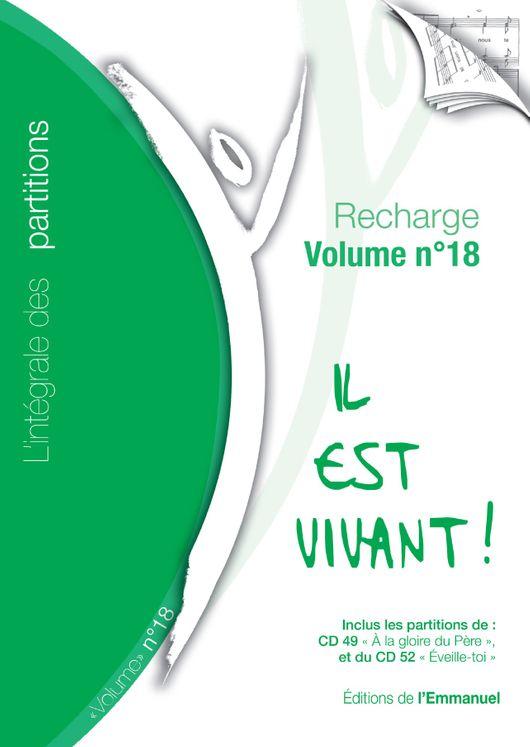 """Recharge de partitions N°18 pour classeur """"L´intégrale"""" - 2009/2010"""