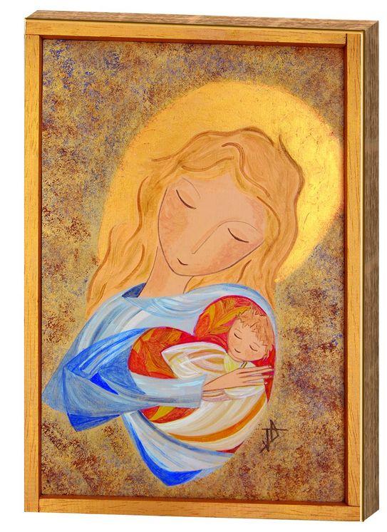 Icône Marie, Amour du Coeur de Dieu
