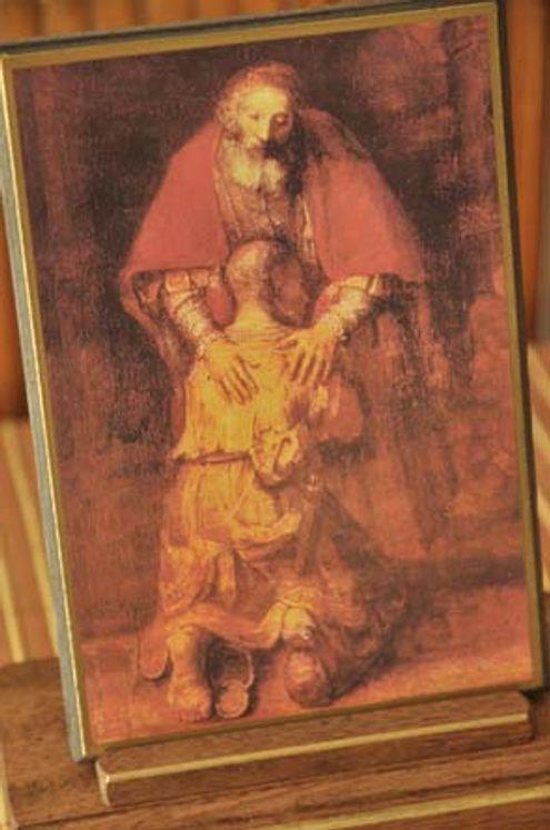 Icône Le Fils Prodigue 10 x 15 cm