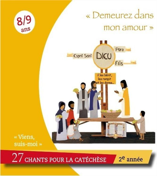 """Viens, Suis-Moi - 2e année """"Demeurez en mon amour"""" - CD"""