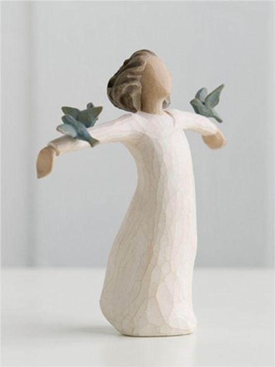 """Statuette """"Happiness"""" Le Bonheur"""