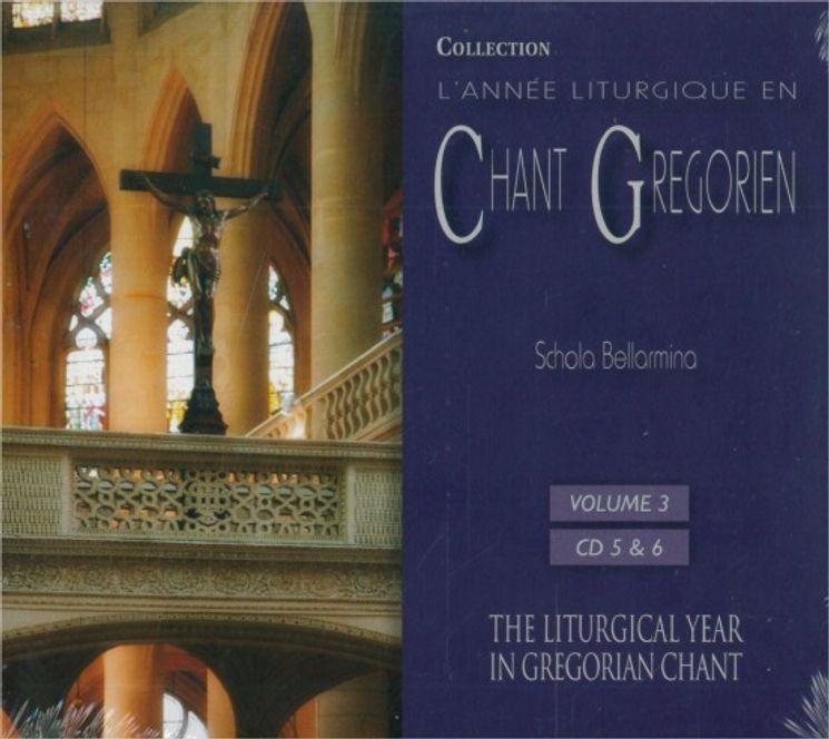 Chants Grégoriens : Du 3e dimanche de Carême au Vendredi-Saint - Vol 3 -  2 CD