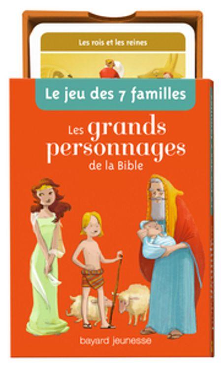 Berühmt Jeu de 7 familles Les grands personnages de la Bible ( Nouvelle  GS51