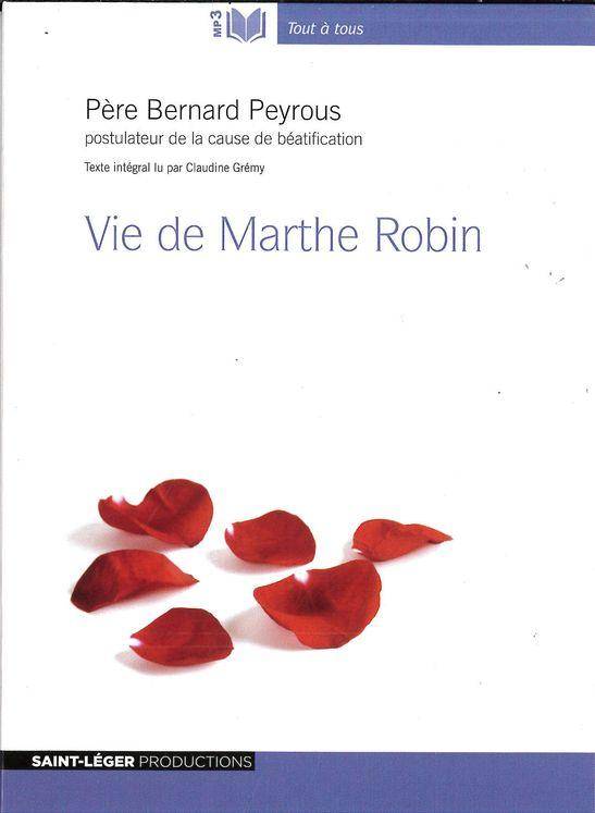 Vie de Marthe Robin -  Audiolive MP3