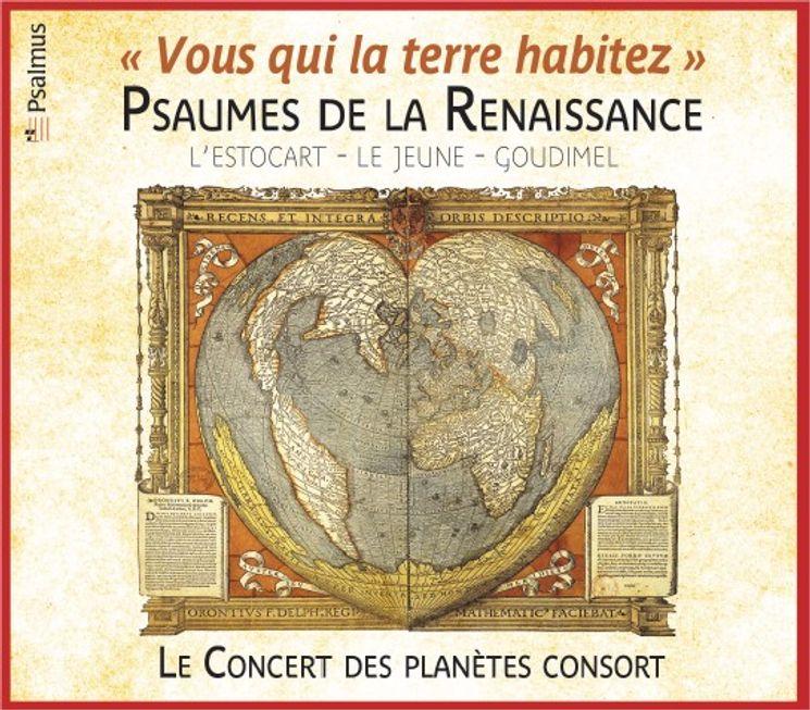 Psaumes de la Renaissance - Le concert des planètes consort