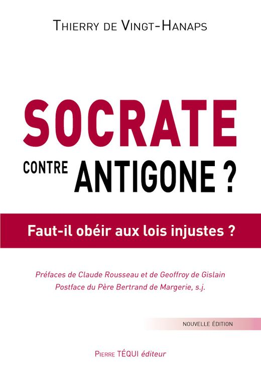 Socrate contre Antigone ?