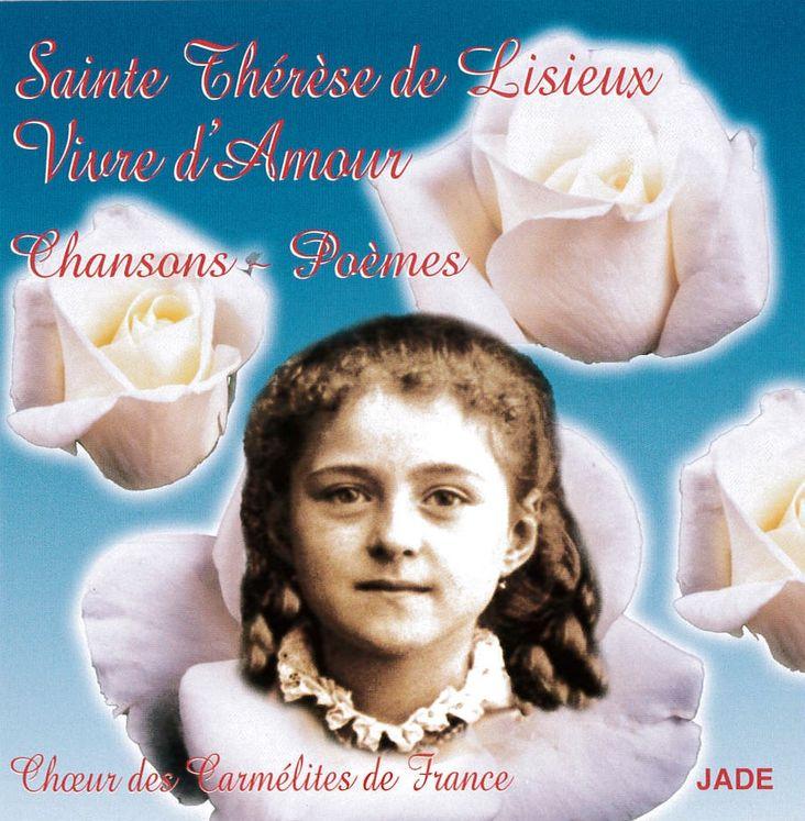 Sainte Thérèse de Lisieux - Vivre d´Amour - CD
