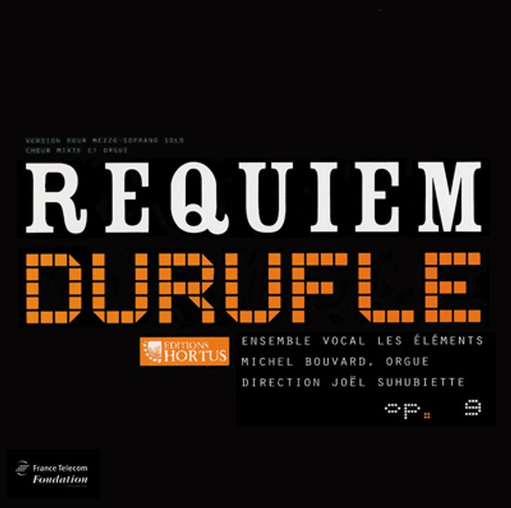 CD - Requiem Duruflé