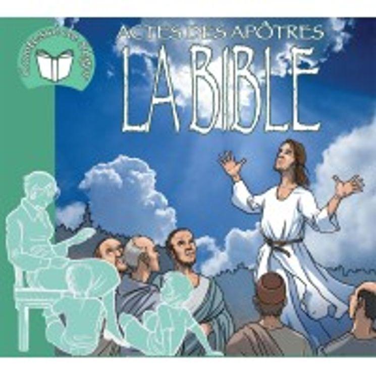 La Bible (Actes des apôtres) racontée par la comtesse de Ségur  CD