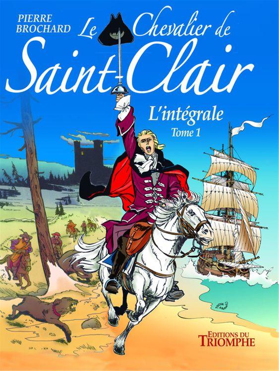 Le chevalier de Saint-Clair BD Intégrale T1