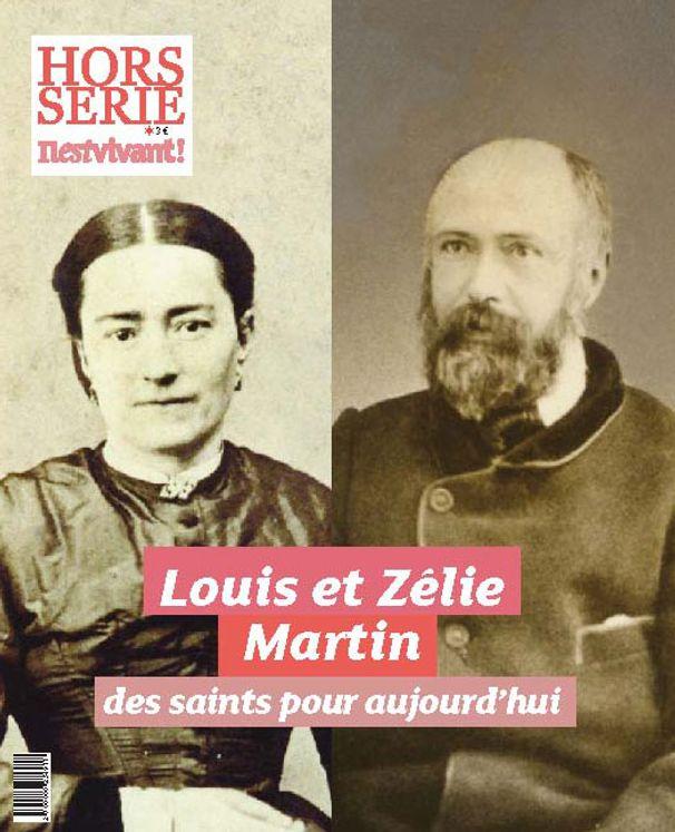Hors-série Il est Vivant : Pack de 10 ex Saints Louis et Zélie Martin