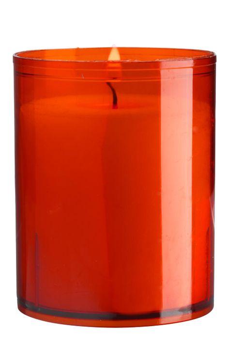 Veilleuse rouge - moyen modèle cylindrique