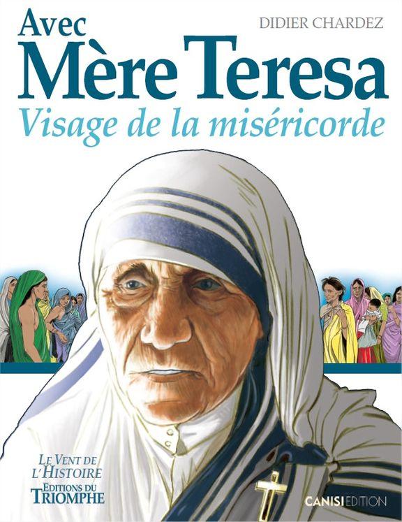 Avec Mère Teresa  BD