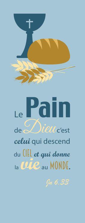 Pack de 20 - Signet Collection Chic -  Le Pain de Dieu