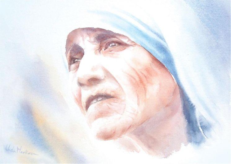 Carte Mère Teresa