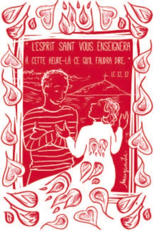 Lot de 25 - Image Confirmation 3 L'Esprit Saint vous enseignera