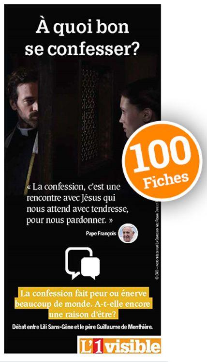 """100 fiches débat """"A quoi bon se confesser ?"""""""