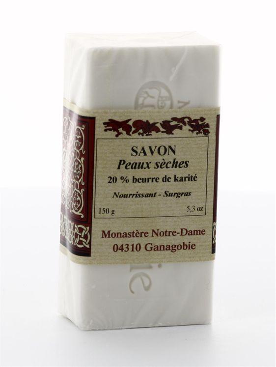 Savon soin de la peau 20% Beurre de Karité 150 g