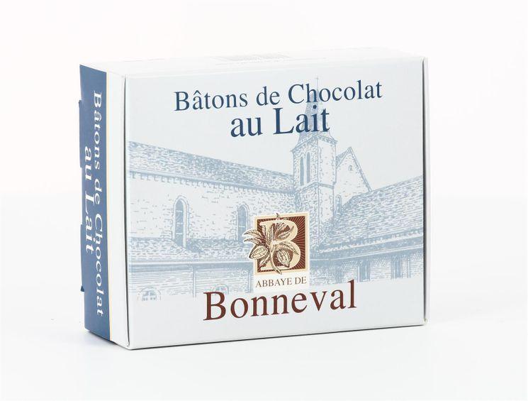 Chocolat au lait (20 bâtons), boite de 240 g
