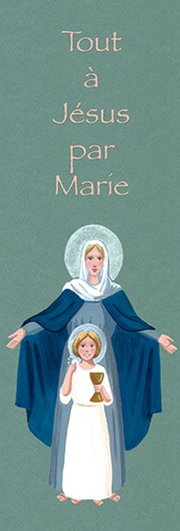 Lot de 25 - Signet Communion Marie