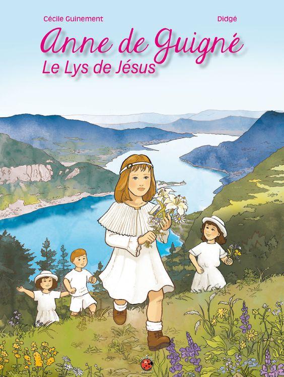 Anne de Guigné - BD