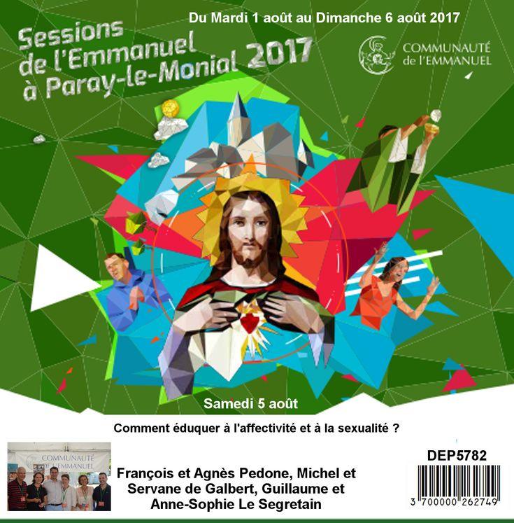 Comment éduquer à l´affectivité et là la sexualité Session du 01 au 06 août 2017