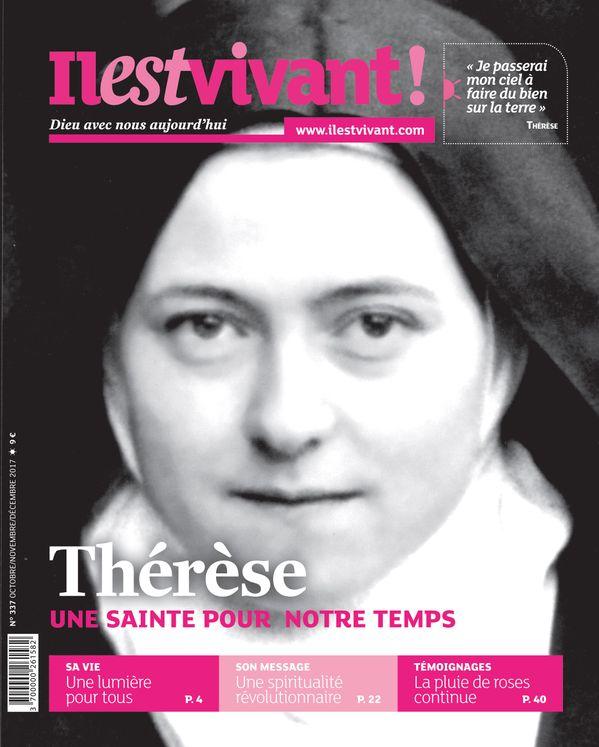 Pack de 50 ex N°337 - Il est Vivant Octobre/novembre/décembre - Thérèse une sainte pour notre temps
