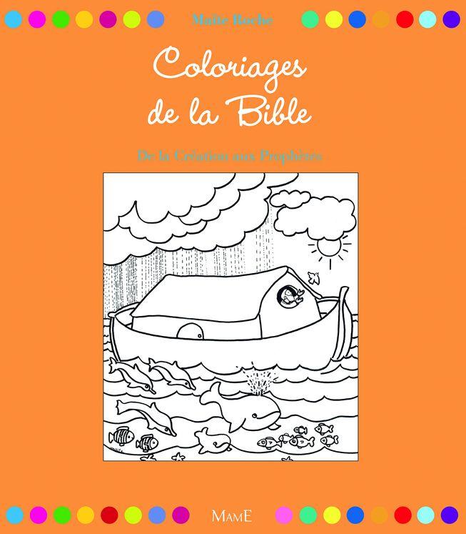 Coloriages de la Bible, de la Création aux Prophètes