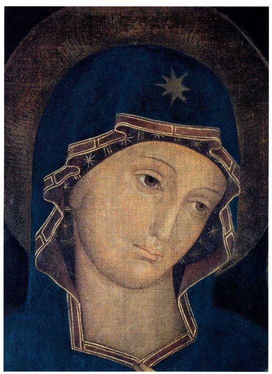 Icône  Vierge de la Consolation 20x25