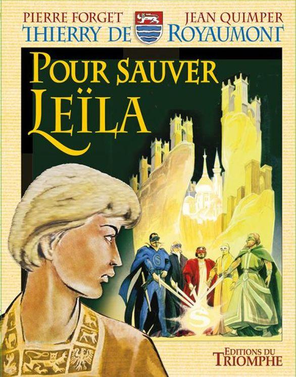 Pour sauver Leïla - Thierry de Royaumont BD