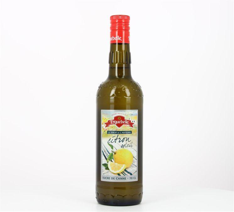 Sirop Artisan Citron Soleil 70 cl