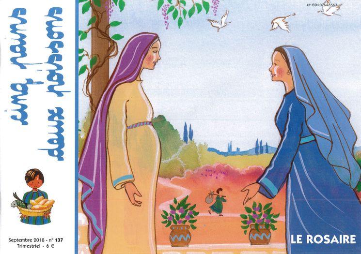 Cinq pains deux poissons 137 - Le Rosaire - Septembre 2018