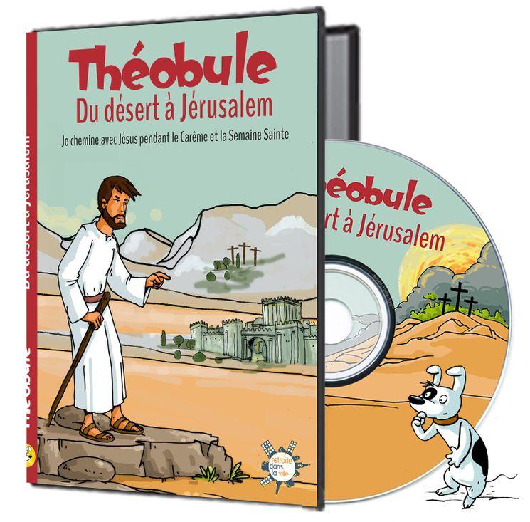 Du désert à Jérusalem - DVD Théobule