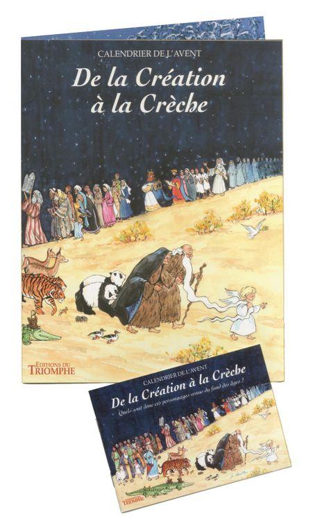 Calendrier de l´Avent - De la Création à la Crèche
