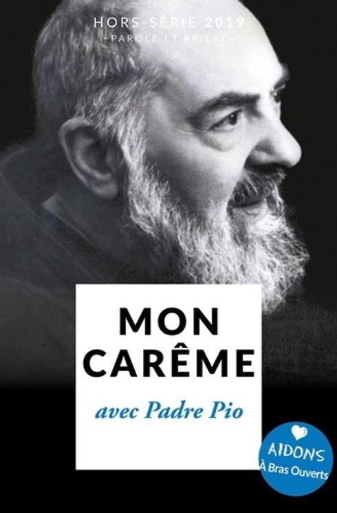 Mon Carême 2019 avec Padre Pio