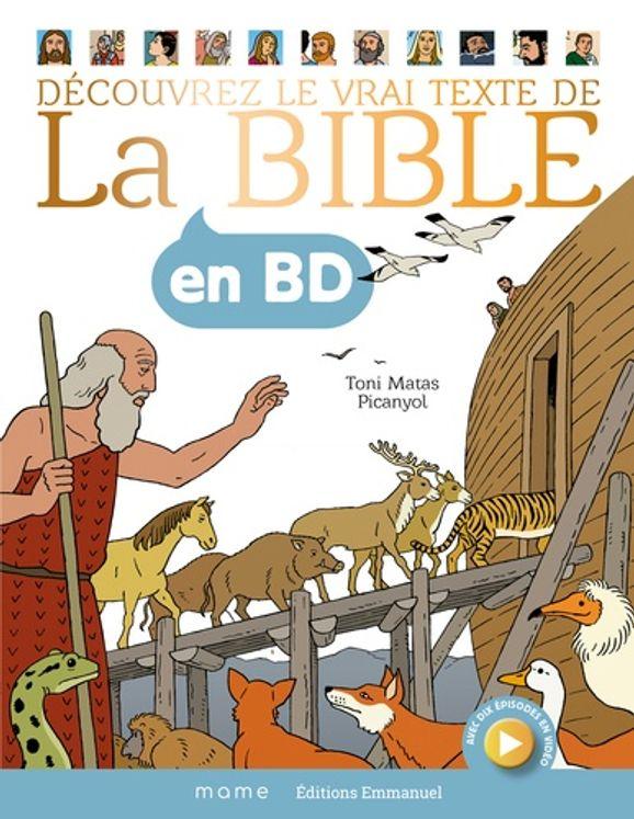 Découvrez le vrai texte de La Bible en BD - Grand format relié