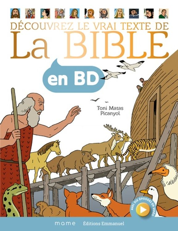 La Bible en BD - Grand format reliée.