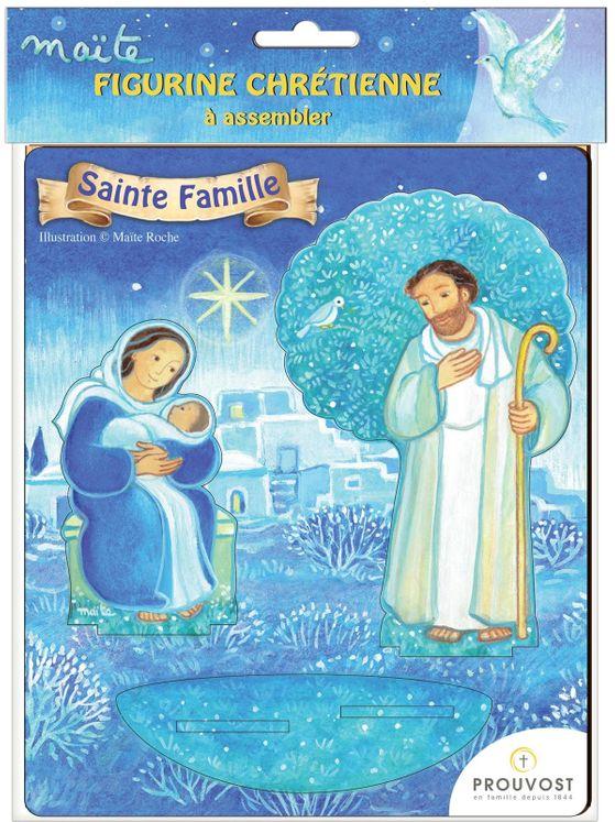 Sainte famille - Saint en bois Maïté Roche