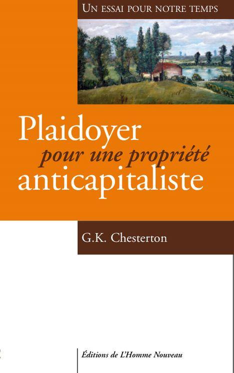 Plaidoyer pour une propriété anticapitaliste