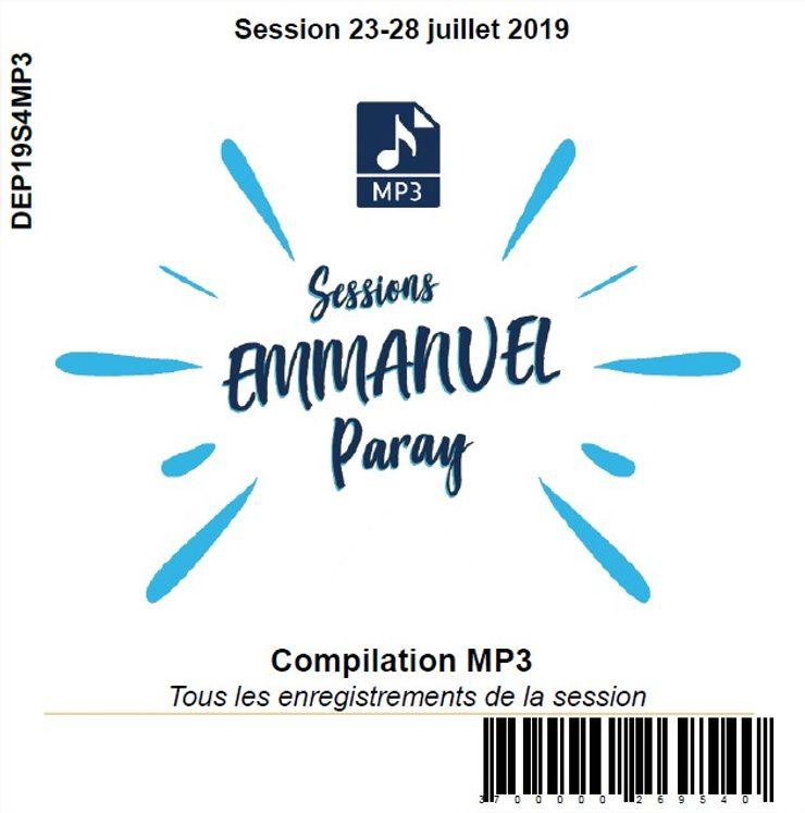 Session 23-28 juillet 2019, CD MP3