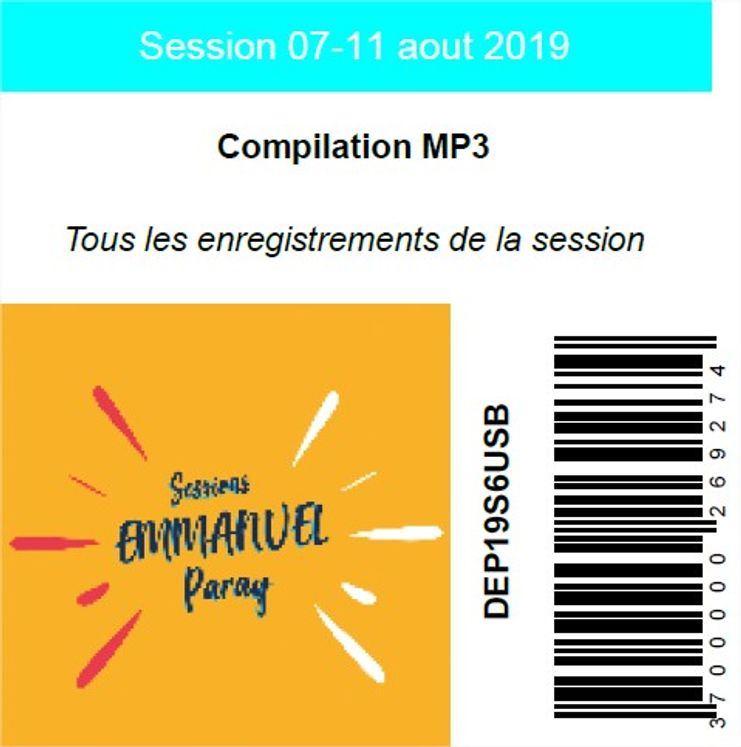 Session 07-11 aout 2019, USB MP3