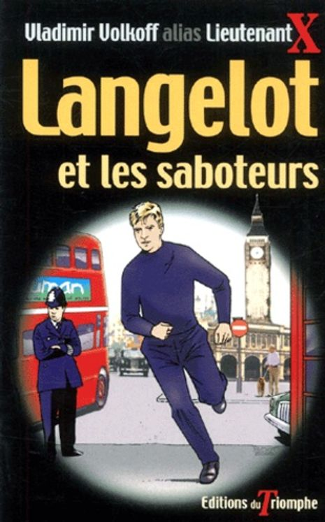 Langelot 04 - Langelot et les saboteurs