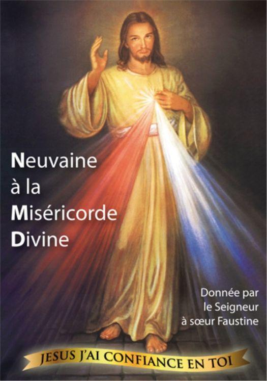 Neuvaine à la misericorde divine - Soeur Faustine-